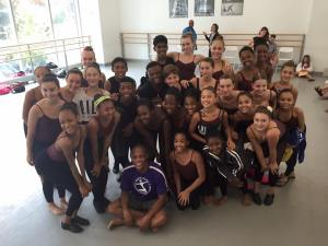 My class at Alvin Ailey Summer 2015 with our jazz teacher...I miss them all so much!