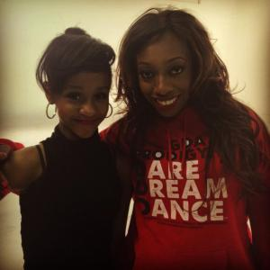 With CiCi Kelley after the shoot!