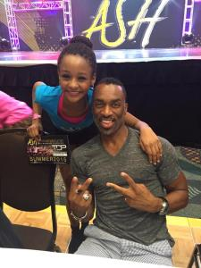 Incredible class with Desmond Richardson! WOW